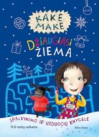 Knyga Kakė Makė džiaugiasi žiema