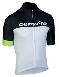Cervelo Race Jersey Black/White/Yellow L