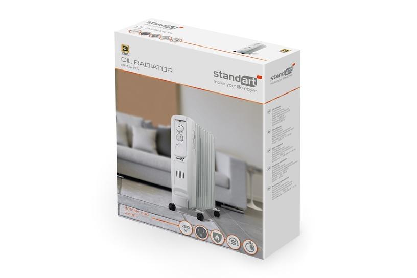 Масляный нагреватель Standart OR15-11A, 2500 Вт