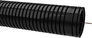 Gofruotas instaliacinis vamzdis RKGS 16, PVC, juodas