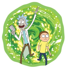 Abysse Corp Rick And Morty Portal Shaped Mouse Pad