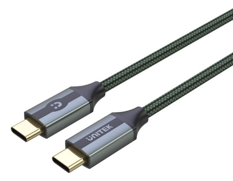 Провод Unitek C14079GN USB Cable 1m Midnight Green