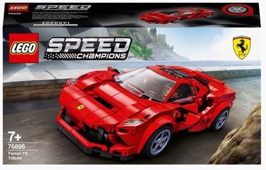 Konstruktor LEGO Speed Champions Ferrari F8 Tributo 76895, 275 tk
