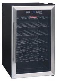 La Sommeliere Wine Cooler LS28 Black/Inox