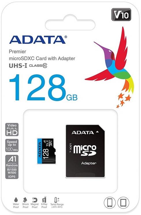 Mälukaart Adata, 128 GB