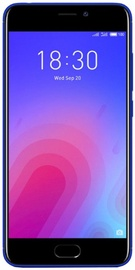 Mobilusis telefonas Meizu M6 Blue, 16 GB