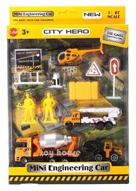 Gerardos Toys City Hero Mini Engineering Car Set