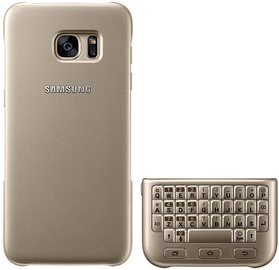Samsung Keyboard Cover For Galaxy S7 Gold