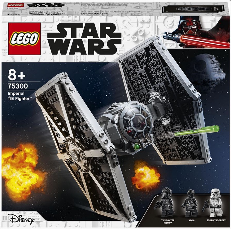Konstruktor LEGO Star Wars Impeeriumi TIE Fighter™ 75300, 432 tk