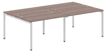 Skyland Xten-S Office Desk XWST 2414 Sonoma Oak/Aluminium
