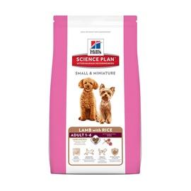 Sausas ėdalas šunims Hill's Adult Small & Miniature, su ėriena ir ryžiais, 1.5 kg