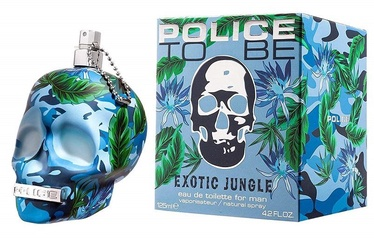 Tualetes ūdens Police To Be Exotic Jungle Man 125ml EDT