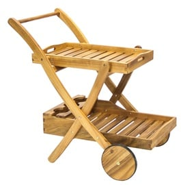 Home4you Finlay Serving Cart Acacia