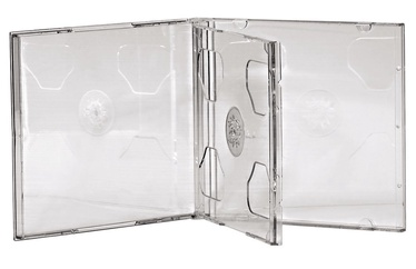 Hama Standard CD Double Jewel Case 5pcs Transparent
