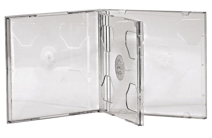 Hama Standard CD Double Jewel Case 5pcs Transparent