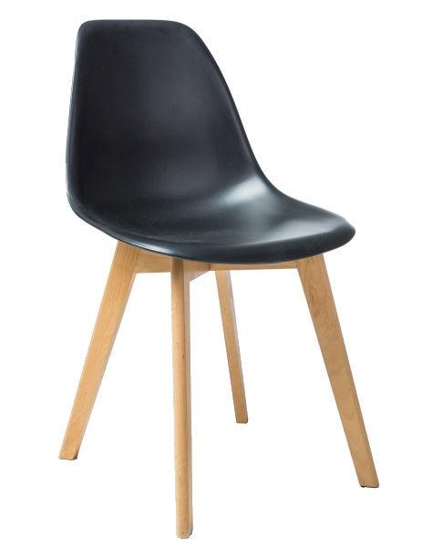 Стул для столовой Signal Meble Moris Black, 1 шт.