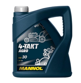 Žoliapjovės variklio tepalas Mannol 4-takt Agro, 4 l