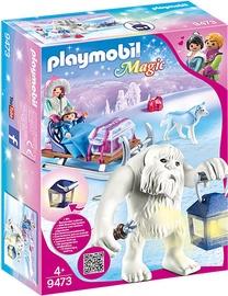 Playmobil Magic Yeti With Sleigh 9473
