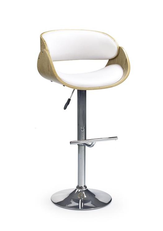 Барный стул Halmar H43 Light Oak/White