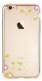 X-Fitted Spring Blossom Swarovski Crystals Back Case For Apple iPhone 6/6s Gold