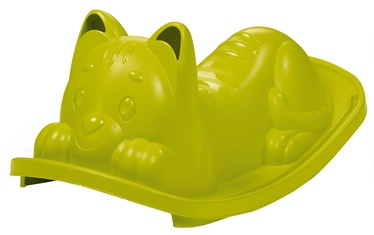 Smoby Toddler Swing Green Cat