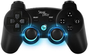 Steel Play Pro Light Pad Wireless Controller Black