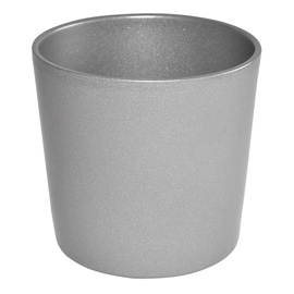 Горшок кер DOMOLETTI, CHARMS STRUCTUR, д 23, цв. серый