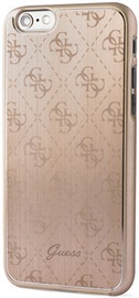 Guess 4G Aluminium Back Case For Apple iPhone 6/6s Gold