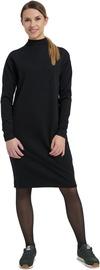Audimas Merino Long Sleeve Midi Dress Black XL