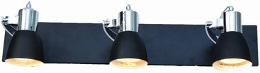 Light Prestige Rawenna Wall Lamp 3x50W GU10 Black