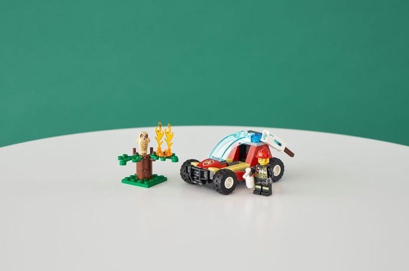 Konstruktor LEGO® City 60247 Metsatulekahju