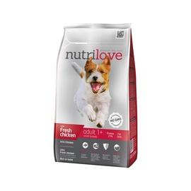Sausas ėdalas šunims Nutrilove Small Adult, su vištiena, 1.6 kg