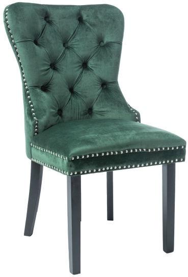 Signal Meble Chair August Velvet Green