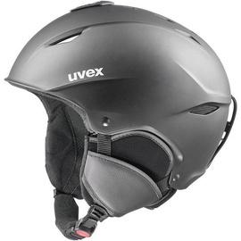 Kiiver Uvex, must, 55 cm