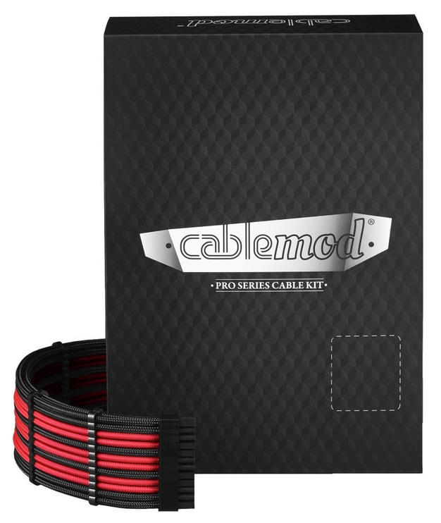CableMod PRO ModMesh RT-Series Cable Kit Black/Red