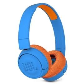 Ausinės JBL JR300BT Blue/Orange, belaidės