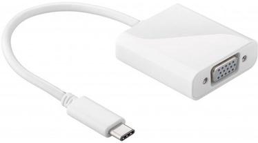 Goobay USB-C to VGA Adapter White