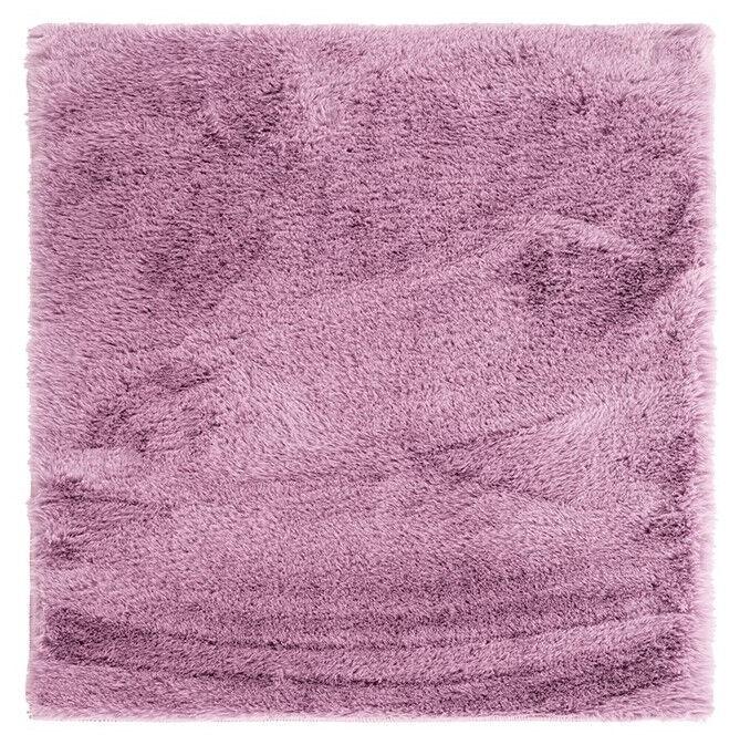 Ковер AmeliaHome Lovika, фиолетовый, 100 см x 100 см