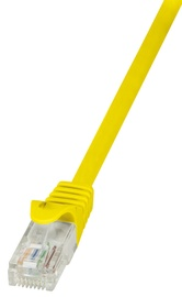 LogiLink Patchcord CAT 5e UTP 0.25m Yellow