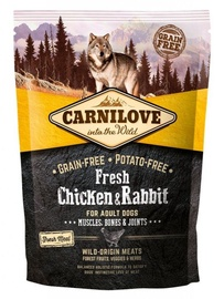Sausas ėdalas šunims Carnilove Adult Dog Fresh Chicken & Rabbit, 1.5 kg