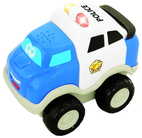 Kiddieland Pull And Go First Police Car 050088