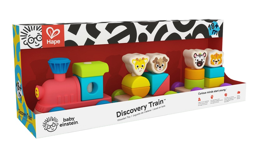 Hape Dicovery Train Wooden Toy 800809