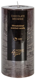 Home4you Candle Chocolate Brownie D6.8xH14cm