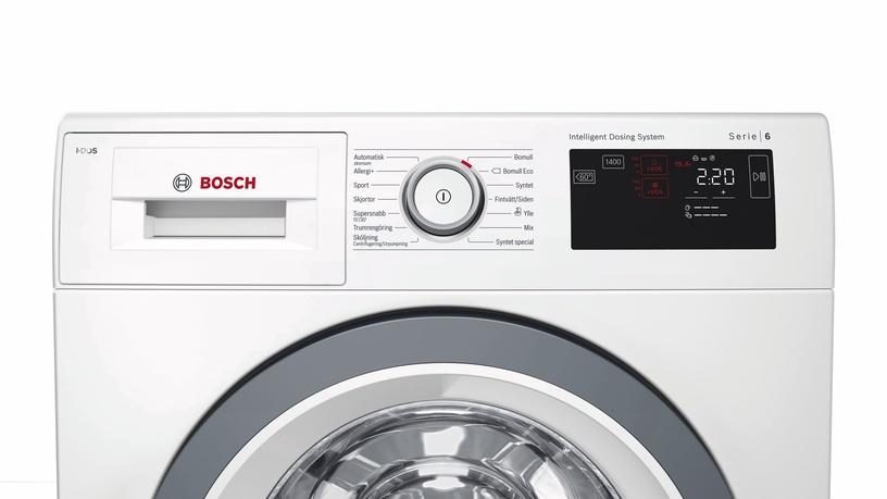 Skalbimo mašina Bosch WAT2869SSN, i-DOS™
