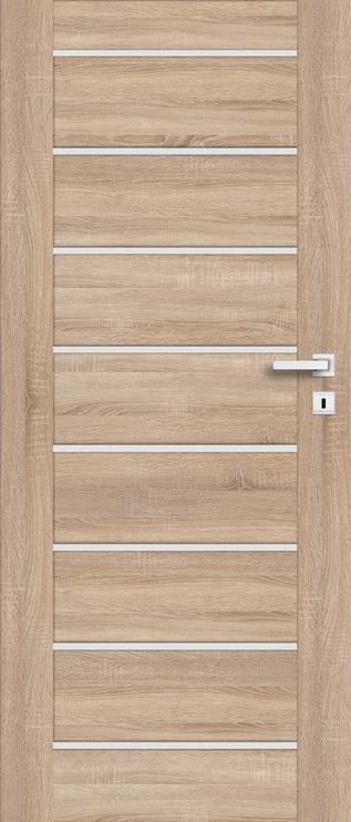 Полотно межкомнатной двери PerfectDoor MIRA 01, дубовый, 203.5 см x 64.4 см x 4 см