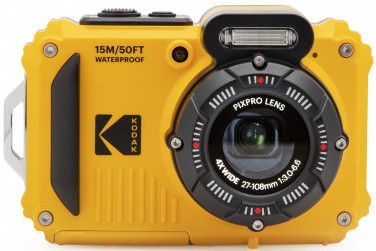Kodak PixPro WPZ2 Rugged Camera Yellow