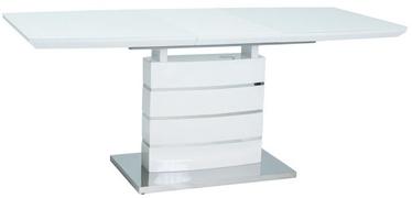 Signal Meble Table Leonardo White 140x80cm