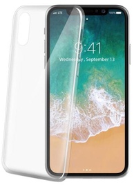 Celly Ultra Thin Back Case For Apple iPhone X White