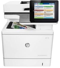 Multifunktsionaalne printer HP LaserJet Enterprise M577dn, laseriga, värviline