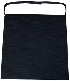 Подушка для стула Home4you Wicker 2-3, черный, 46x48 см